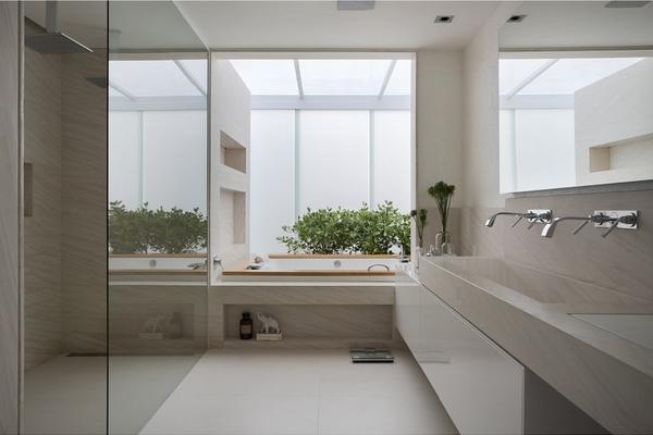 Como escolher acessórios para banheiros grandes  Decoração Ideal -> Decoracao Banheiro Acessorios