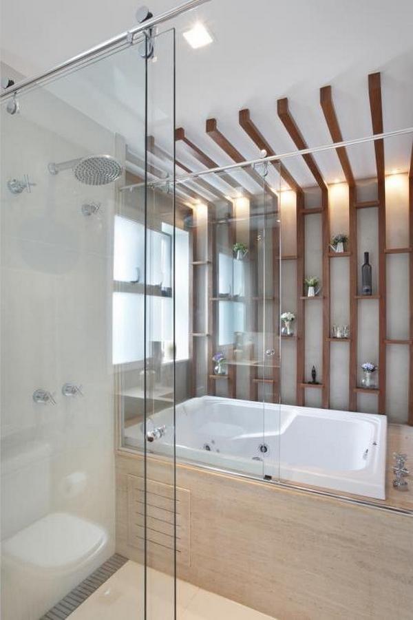Como escolher acessórios para banheiros grandes  Decoração Ideal -> Decoracao Banheiro Itens