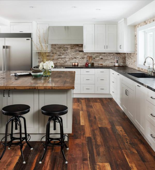 Bancadas de madeira para cozinha decora o ideal - Letto all americana ...
